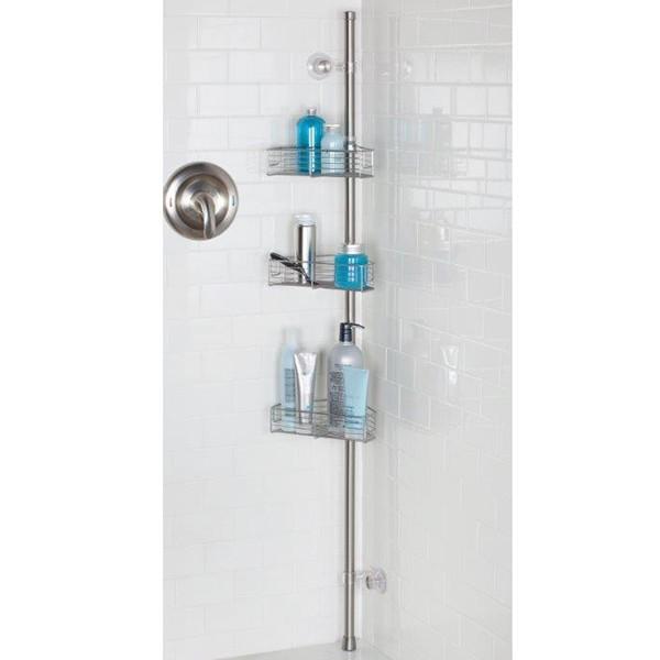 Etagères d'angle douche à Ventouses Interdesign