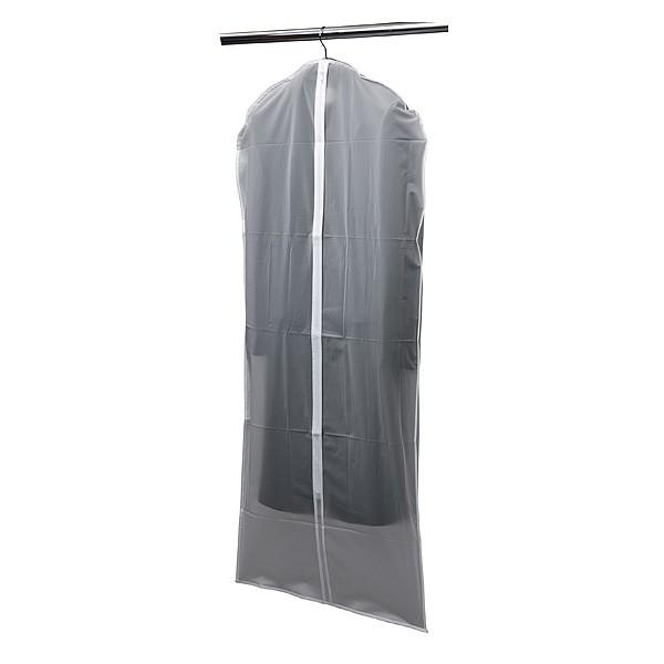 Housse de Vêtements Longue Translucide en PEVA
