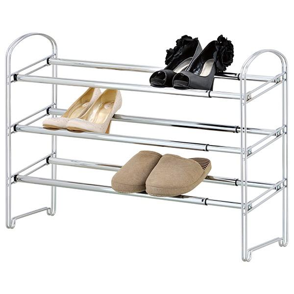 Etagère à Chaussures extensible 12 paires de chaussures