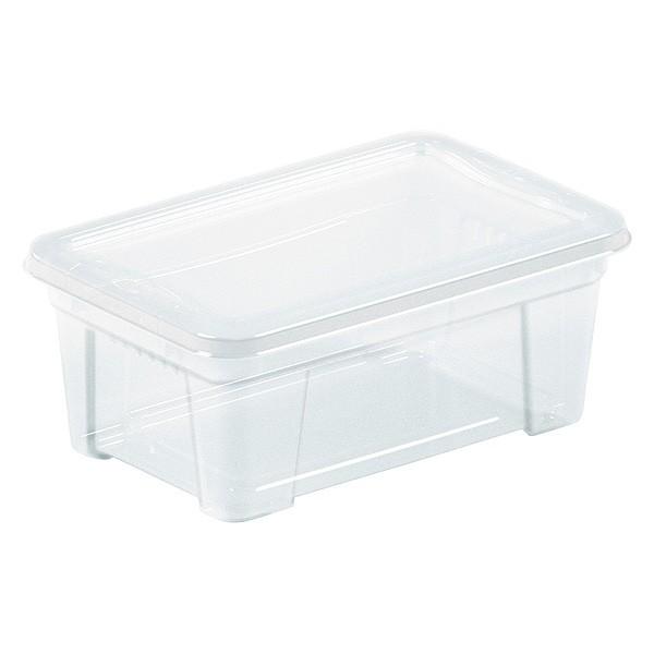 Boîte de Rangement avec couvercle pour vêtements 0,9 Litre