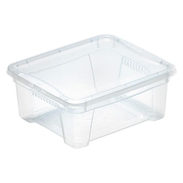 Boîte de rangement avec couvercle pour vêtements 1,9 Litres