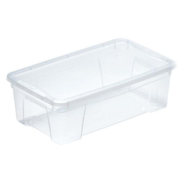 Boîte de rangement avec couvercle pour vêtements 5,7 Litres