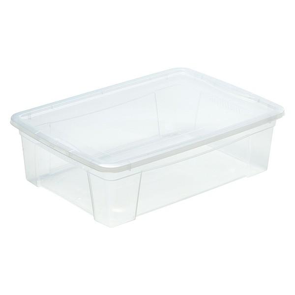 Boîte de Rangement avec couvercle pour vêtements 25,6 Litres