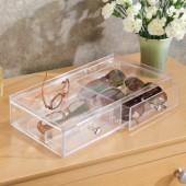 Boîte de Rangement Acrylique pour Lunettes Interdesign