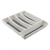Range couverts pour tiroir de cuisine 5 compartiments
