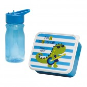 LUNCH BOX ENFANT + GOURDE DRAGON