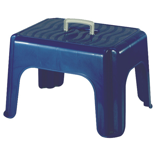 Tabouret Marchepied Design Billy Bleu